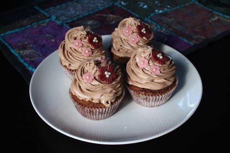 Browniecupcakes alla