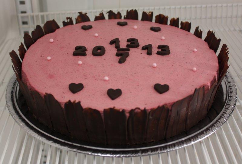 bröllopstårta med får datum