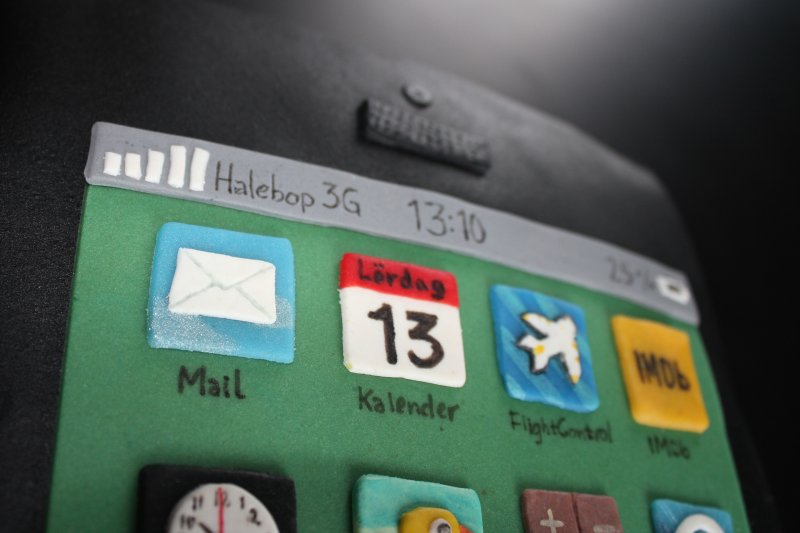iPhone 5 appar mail, kalender, flight control, imdb