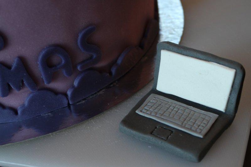 40-årstårta med mountainbike dator