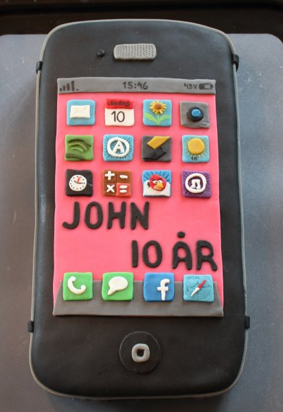 iPhone uppifrån