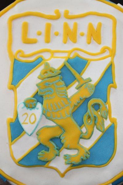 IFK Göteborgtårta emblem