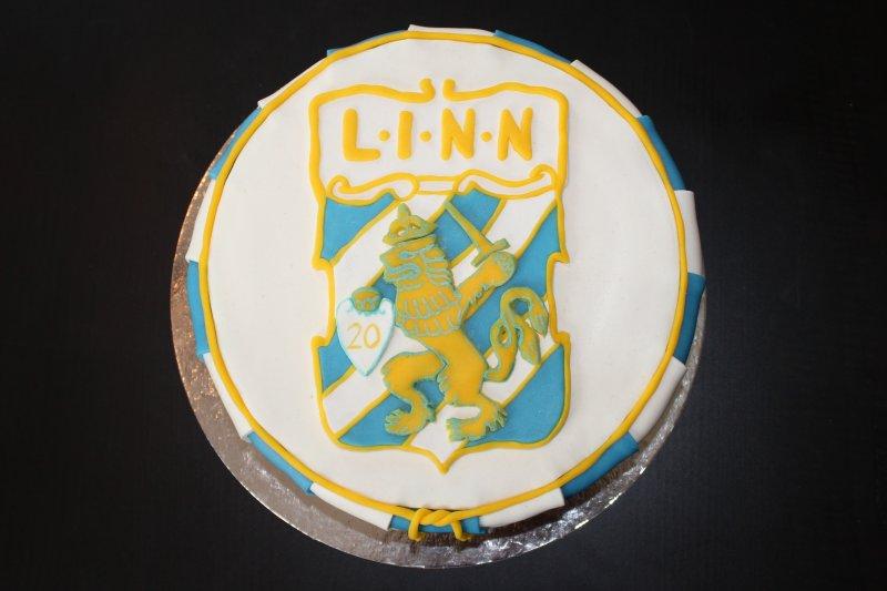 IFK Göteborgtårta  uppifrån