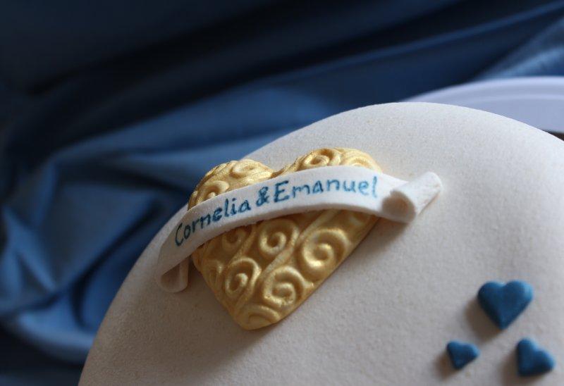 Bröllopstårta 3Dhjärta