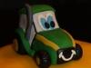 Traktortårta närbild