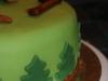 Skogshuggartårta från sidan